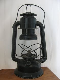 Vintage black lantern!