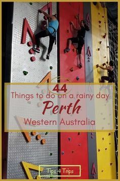 Discover 44 indoor things to do in Perth, Western Australia. Learn about history and science, rock climb, swim, skate, play golf and enjoy the local animals all while staying dry on a Perth winter day. #Perth #WesternAustralia #traveltips4trip
