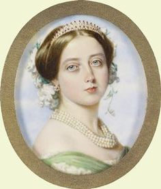 Queen Victoria (Alexandrina Victoria)  (1819-1901) miniature by Guglielmo Faija in 1856. Queen Victoria (1819-1901) & Prince Albert (1819-1861) exemplified the ideal of marriage. Almost everybody chose to follow them - not just bad examples are contagious! The British, however, always had a little dislike for Albert.  Queen Victoria attracted the people in public affairs & their prestige quietly grew.