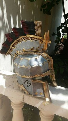 Dain ironfoot finished helmet by order by AcroProps on DeviantArt