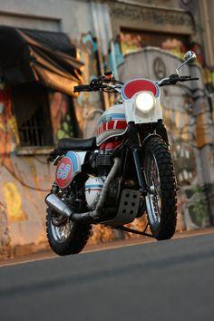 Triumph Bonneville Scrambler by Grease Monkey - Silodrome