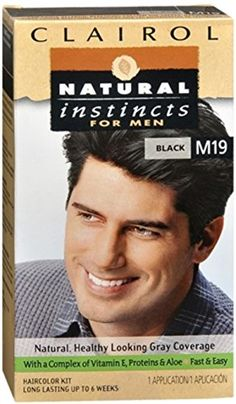 Natural Instincts For Men Haircolor M19 Black 1 Each Pack of 2 *** Check out this great product.Note:It is affiliate link to Amazon.