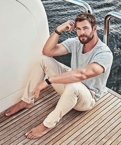 "mancandykings: ""Chris Hemsworth for Foxtel Magazine (June 2017) """"I'd love to direct, it would be insanely challenging. To have that responsibility and creative freedom really interests me. It's just..."