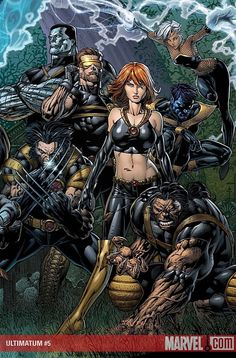 X-Men by David Finch