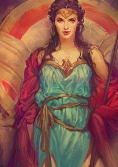 Wonder Woman by mushroomtale                                                                                                                                                      More