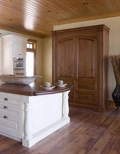 Beautifully Hidden Refrigerators.