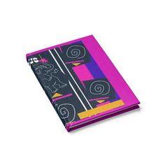 Circus Buddies Companion Print Journal - Blank Pink and Purple