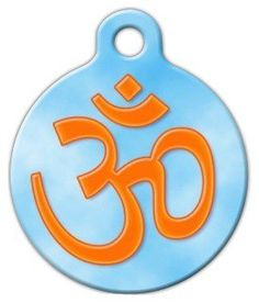 Om Pet ID Tag for Dogs and Cats - Dog Tag Art * See this great product. (This is an affiliate link) Dog Id Tags, Pet Tags, Nerd Chic, Tag Image, Personalized Tags, Pet Id, Cool Pets, Cat Collars, Tag Art