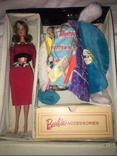 Barbie vintage doll 1966 on Mercari Mattel Dolls, See Photo, Barbie, Outfit, Photos, Vintage, Outfits, Pictures, Vintage Comics