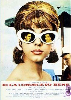 """""""Io la conoscevo bene"""" (Yo la conocía bien) de Antonio Pietrangeli.   Premio a la Producción - Festival Internacional de Cine de Mar del Plata edición 1966"""