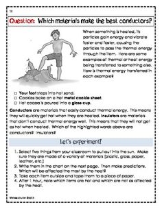 Science Printables, Foldables, and Activities FOURTH GRADE Superpack- Filled with vocabulary, photos, and experiments for every 4th grade New Generation Science standard.