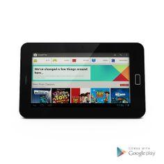 Hipstreet 7-Inch Google Certified Dual Core Tablet, 8GB Memory, Dual Camera, Black