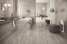 Marvel Pro Travertino Silver by Atlas Concorde Home Design, Floor Design, Wall Design, Concorde, Marvel Stone, Modern Interior, Interior Design, Tile Covers, Granite Flooring
