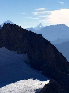 View of the Matterhorn from Mont-Blanc