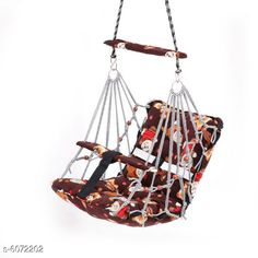 Others Baby Swing  Material: Cotton  Size (L x W x H ): 35 in x 35 in x 6 in   Description: It Has 1 Piece Of Hanging Swing Chair Country of Origin: India Sizes Available: Free Size *Proof of Safe Delivery! Click to know on Safety Standards of Delivery Partners- https://ltl.sh/y_nZrAV3  Catalog Rating: ★4.2 (5650)  Catalog Name: Unique Hanging Swing Chair Vol 2 CatalogID_922730 C63-SC1325 Code: 593-6072202-