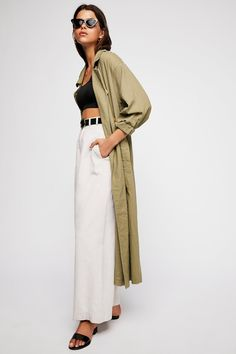 Sweet Melody Trench Coat   Free People