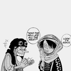 Usopp and Luffy as Sanji One Piece Manga, One Piece Meme, One Piece Comic, Manga Art, Manga Anime, Anime Art, Zoro, One Piece Wallpaper Iphone, One Piece Tattoos