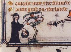 Illustrazioni medievali strane e bizarre [FOTO]