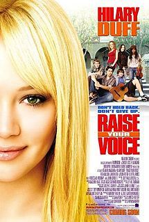 Ok, so I'm not 17, but I really like this movie :) raise your voice, with hilary duff