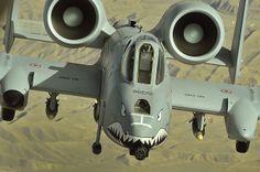 Fairchild Republic A-10 Thunderbiolt II.