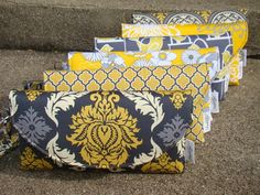 i'd like my home designed around these clutches  etsy: frankielloyd