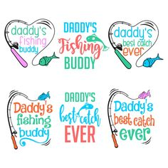 Daddy's Best Catch Cuttable Design