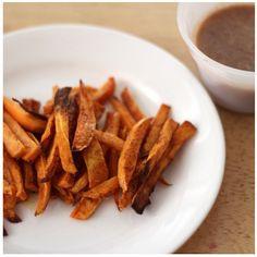 Homemade - Sweet Potato Fries & Coconut Cinnamon Dip - @xo_dominichulinda- #webstagram #eatclean #cleaneating