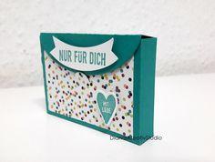 Heute eine kleine Inspiration für euch: eine Mini-Verpackung.... Diese Verpackung wird - wie die Verpackung in meinem letzten Blogb...