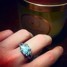 Find this gorgeous ring in your Charmed Aroma candles today!