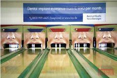 KQV Bowling Billboard