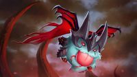 Aatrox Poro Champion League of Legends 1920x1080