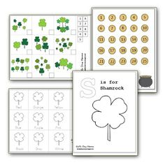 Free St. Patrick's Day Mini Pack from Get 'Er Done, Momma!