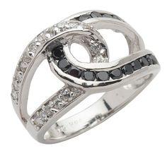 Ring - Äkta silver cubic zirconia