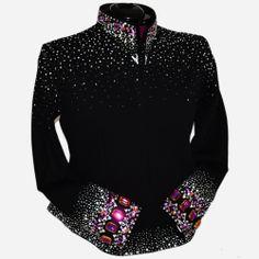 Lisa Nelle Show Clothing — Step Out Noir Jacket 2X/3X