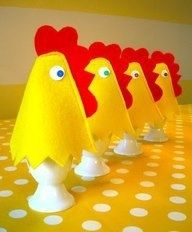Voorbeeld eierwarmer kip