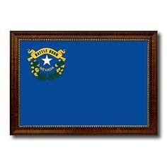 Nevada State Flag Giclee On Canvas Gift Idea Office Home Wall Décor Bedroom Livingroom Masteroom Gameroom ManCave Bar Housewarming Birthday Decoration Art AllChalkboard http://www.amazon.com/dp/B00V46RK70/ref=cm_sw_r_pi_dp_PhfJvb0FZC3DR