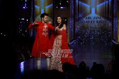 Varun Dhawan and Alia Bhatt shake a leg at the CPAA fashion event