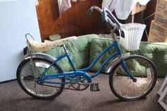 Mine was just like this...basket, banana seat and all.  Ahhh...those were the days!