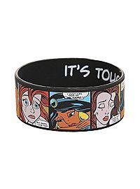 Sweet! HOTTOPIC.COM - Disney Princess Pop Art Rubber Bracelet
