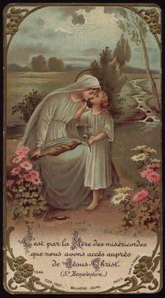 """Eu creio no infinito e terno amor que Jesus tinha por sua Mãe, a Virgem Maria.  Como seria possível àquele que é o próprio Amor não amá-la? Como seria possível ao autor do Quarto Mandamento: """"Honrarás teu pai e tua mãe"""", não honrá-la?"""