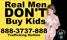 Stop child sex trafficking
