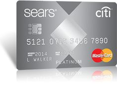 Sears MasterCard® credit card I like when I'm getting my card Sears  you keep telling I'm getting my card when in next centry.