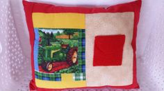 Tractor Toothfairy Pillow
