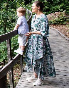 Crown Princess Victoria, Prince Daniel and Oscar visited Söderåsen National Park in Skåne