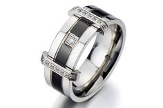 Unique Mens Wedding Ring /Mens Promise Ring for by beyondcoolmetal, $15.97