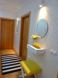 Corredor Decor, Furniture, Round Mirror Bathroom, Home Decor, Mirror