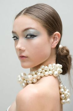 Labellefabuleuse /  Backstage at Chanel, Spring 2013.