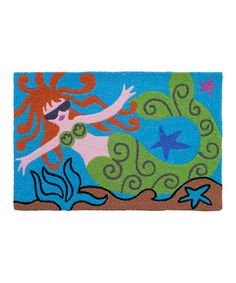 Look at this Molly Mermaid Rug on #zulily today!
