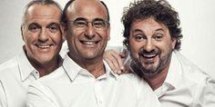 Panariello – Conti – Pieraccioni: a marzo lo spettacolo del trio toscano arriva nei Palasport di tutta Italia