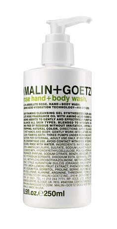 (MALIN + GOETZ) - rose hand + body wash. $20